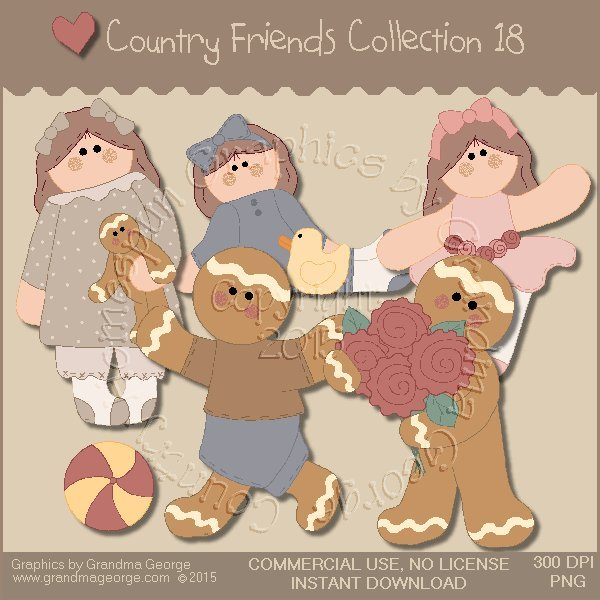 Country Friends Graphics Collection Vol. 18