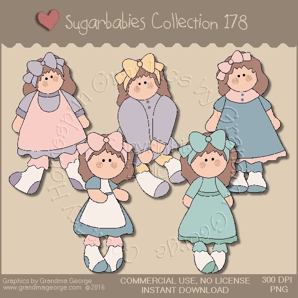 Sugarbabies Country Graphics Collection Vol. 178