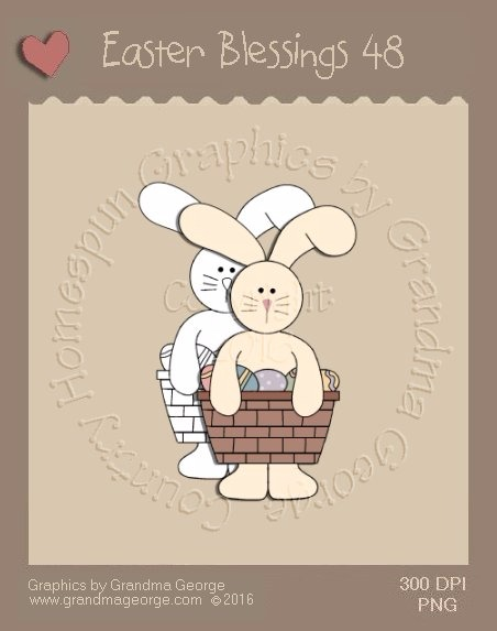 Easter Blessings Single Country Graphic 48