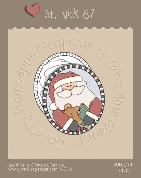 St. Nick Single Country Graphic 87