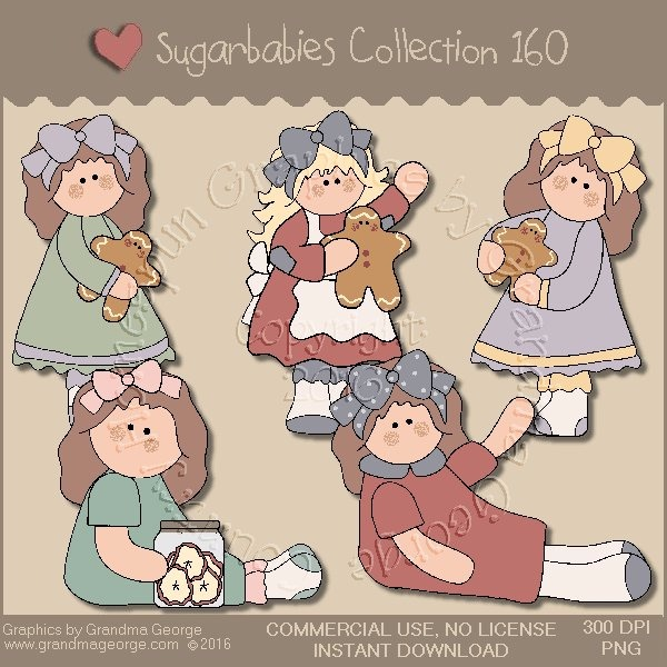 Sugarbabies Country Graphics Collection Vol. 160