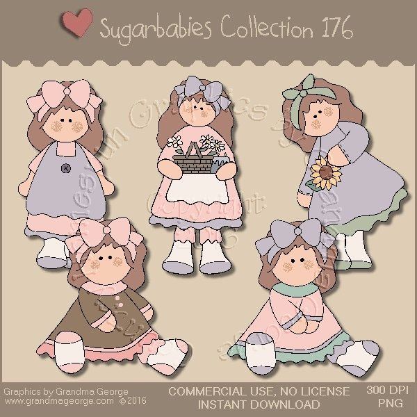 Sugarbabies Country Graphics Collection Vol. 176