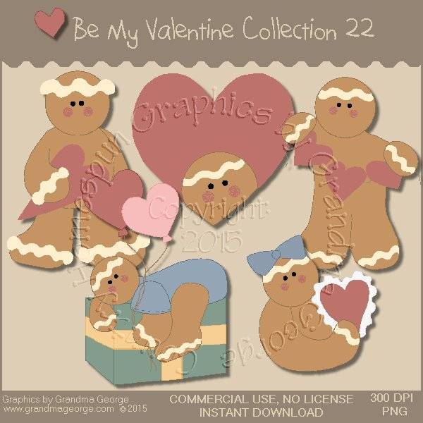 Be My Valentine Graphics Collection Vol. 22