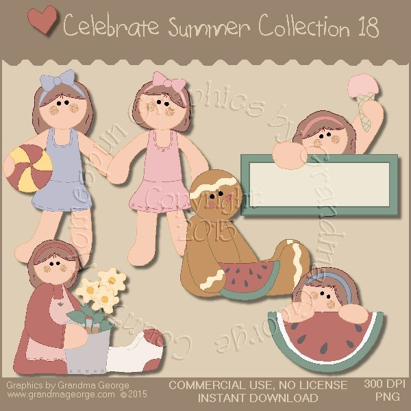Celebrate Summer Country Graphics Collection Vol. 18