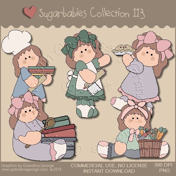 Sugarbabies Country Graphics Collection Vol. 113