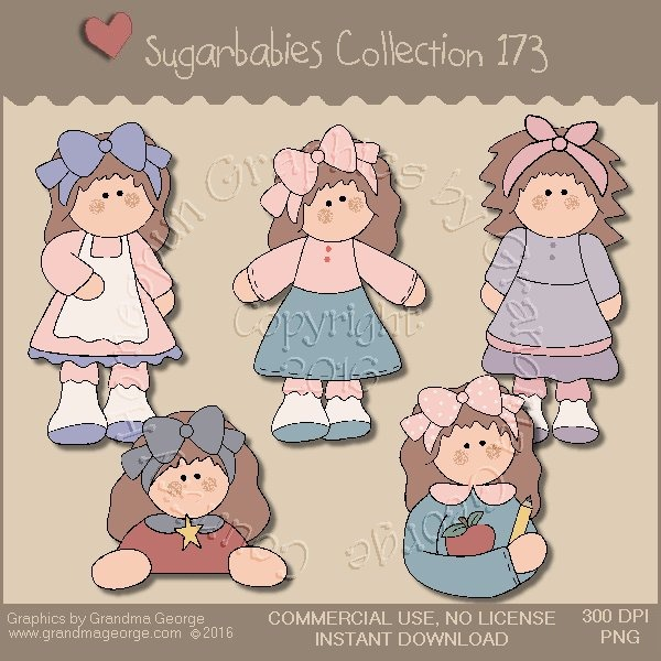 Sugarbabies Country Graphics Collection Vol. 173