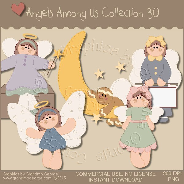 Angels Among Us Graphics Collection Vol. 30