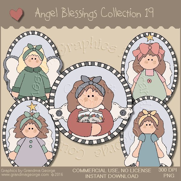 Angel Blessings Country Graphics Collection Vol. 19
