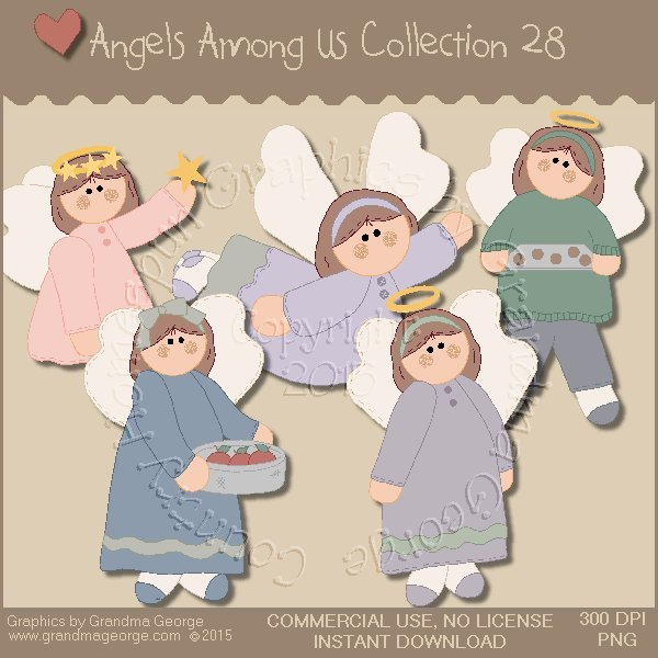 Angels Among Us Graphics Collection Vol. 28