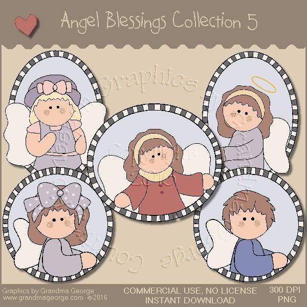 Angel Blessings Country Graphics Collection Vol. 5