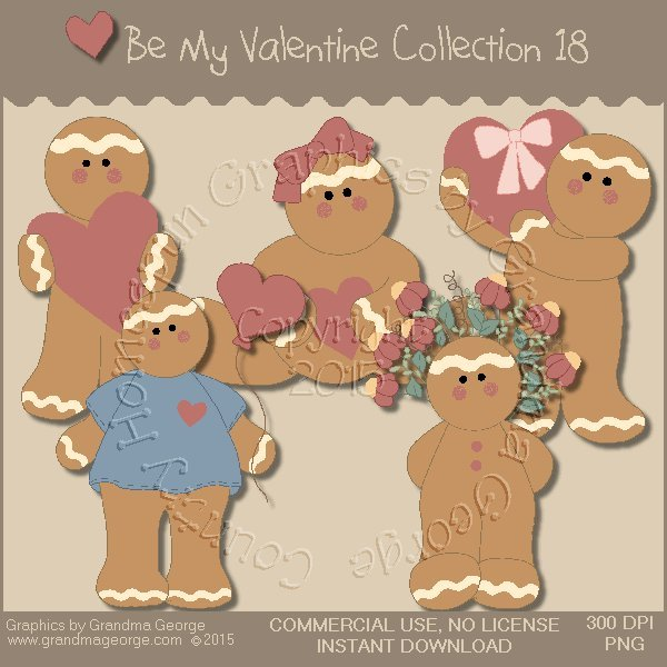 Be My Valentine Graphics Collection Vol. 18