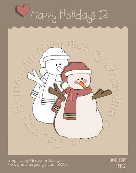 Happy Holidays Christmas Single Country Graphic 12