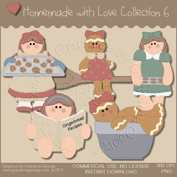 Homemade with Love Graphics Collection Vol. 6