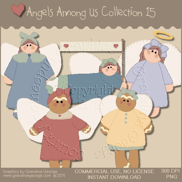 Angels Among Us Graphics Collection Vol. 15