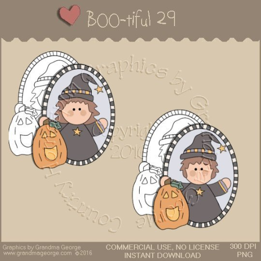 BOO-tiful - Halloween Single Country Graphic 29