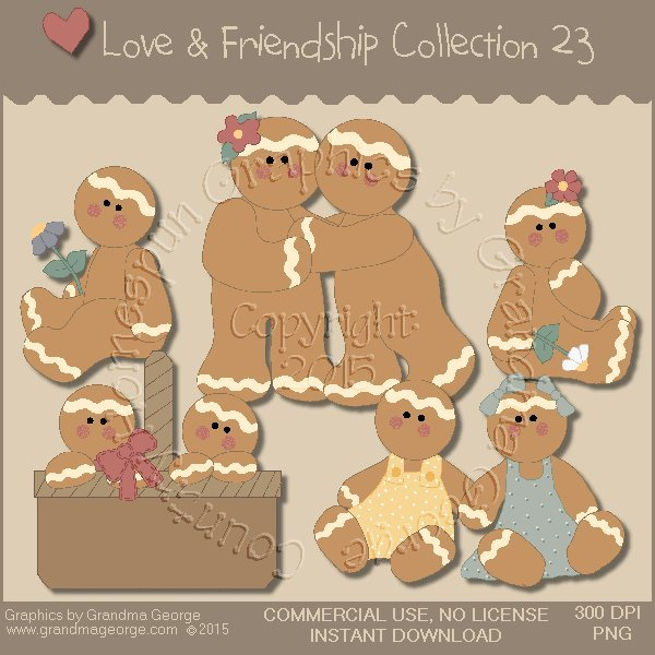 Love & Friendship Graphics Collection Vol. 23