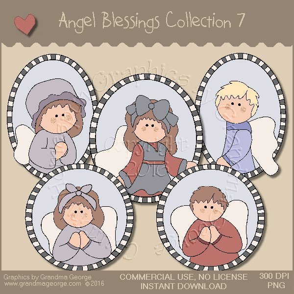Angel Blessings Country Graphics Collection Vol. 7