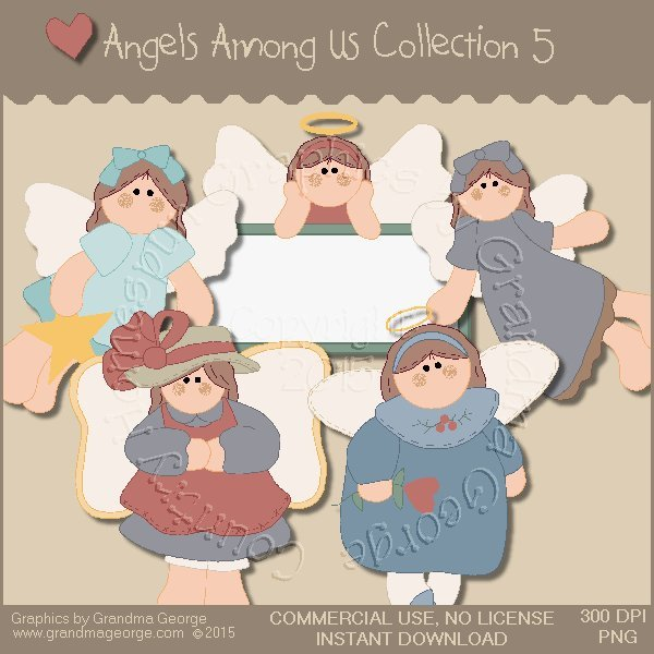 Angels Among Us Graphics Collection Vol. 5