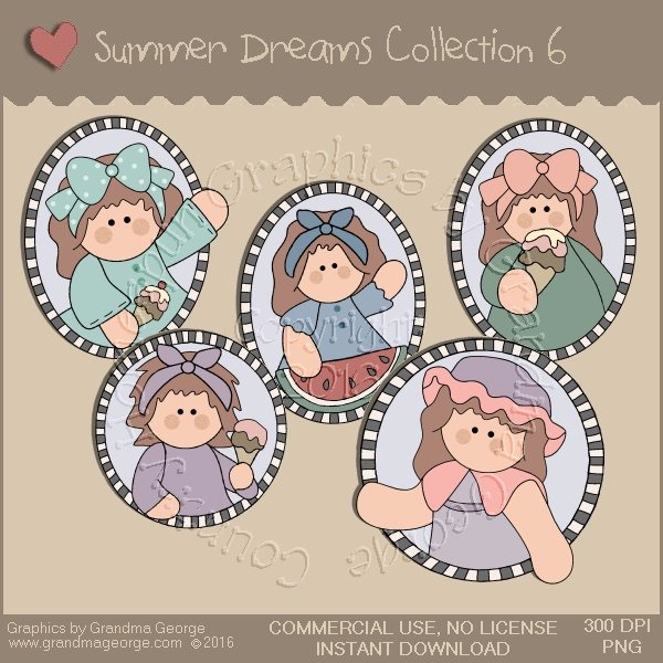 Summer Dreams Country Graphics Collection Vol. 6