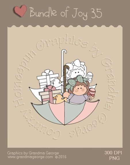 Bundle of Joy Single Country Graphic 35