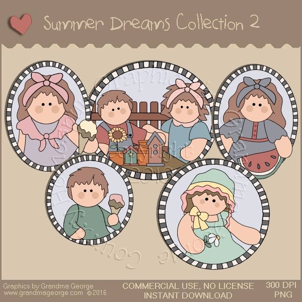 Summer Dreams Country Graphics Collection Vol. 2