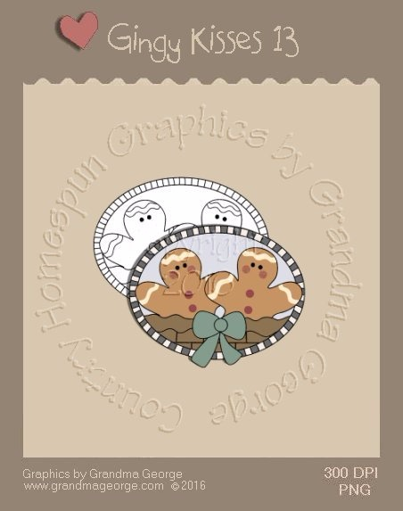 Gingy Kisses Single Country Graphic 13