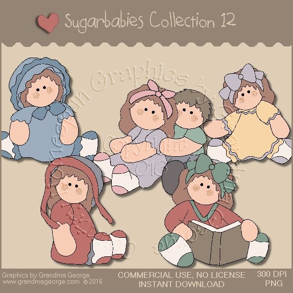 Sugarbabies Country Graphics Collection Vol. 12