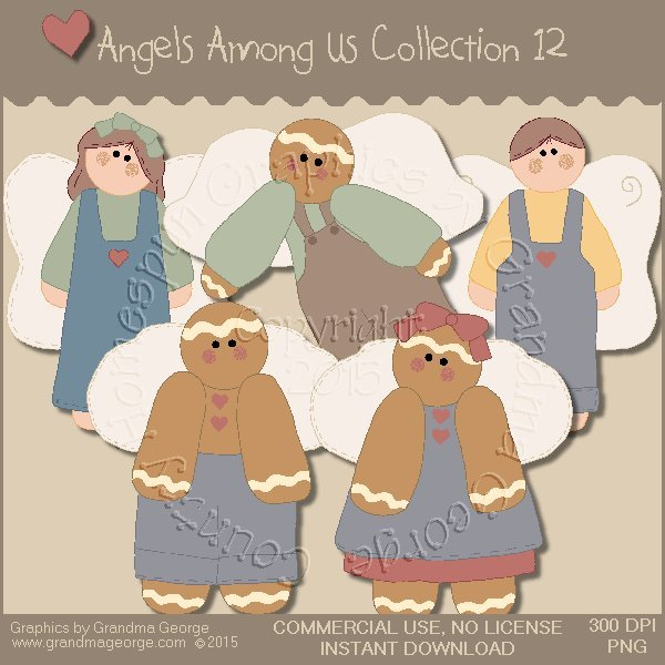 Angels Among Us Graphics Collection Vol. 12