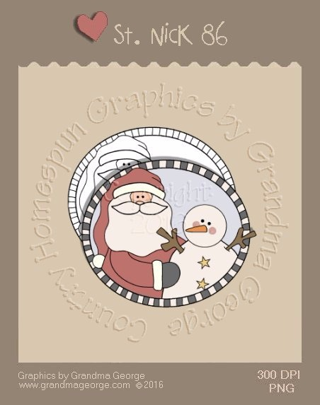 St. Nick Single Country Graphic 86