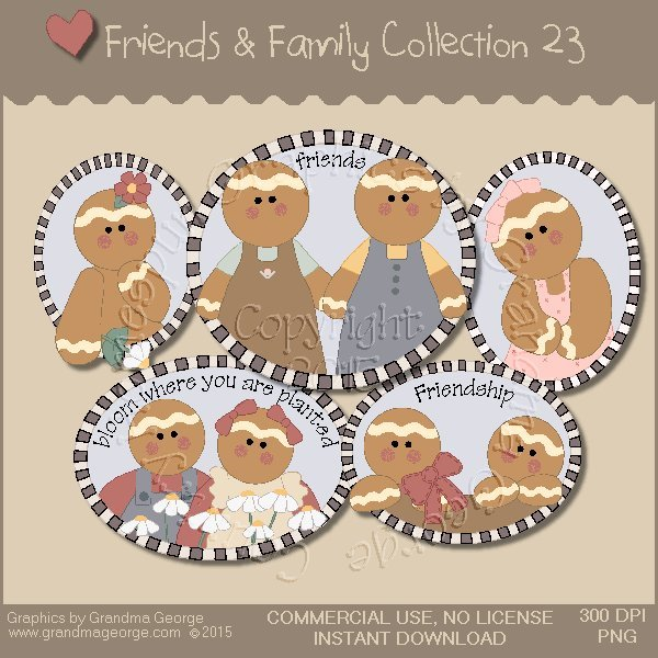 Friends & Family Graphics Collection Vol. 23