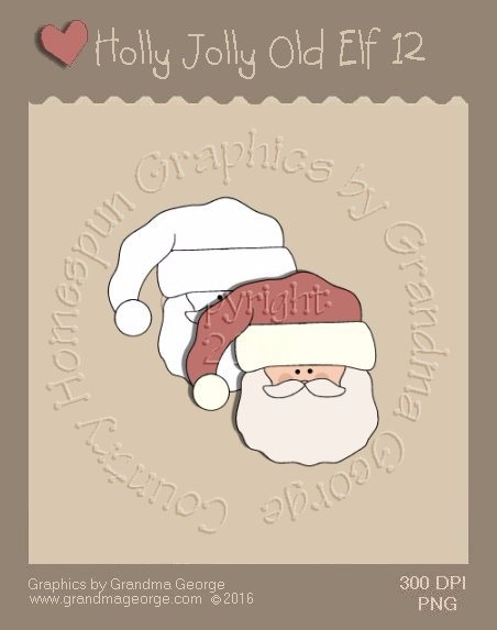 Holly Jolly Old Elf Single Country Graphic 12
