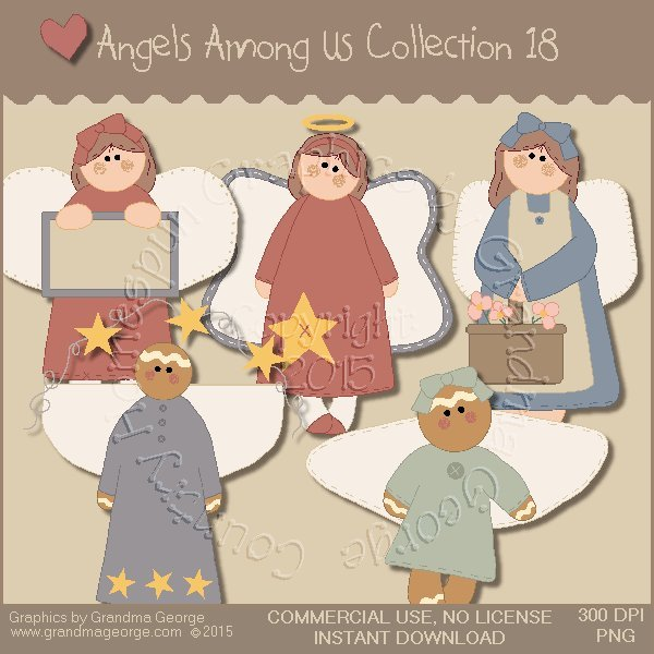 Angels Among Us Graphics Collection Vol. 18