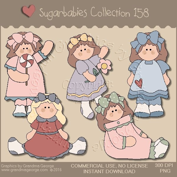 Sugarbabies Country Graphics Collection Vol. 158