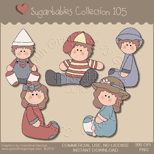 Sugarbabies Country Graphics Collection Vol. 105