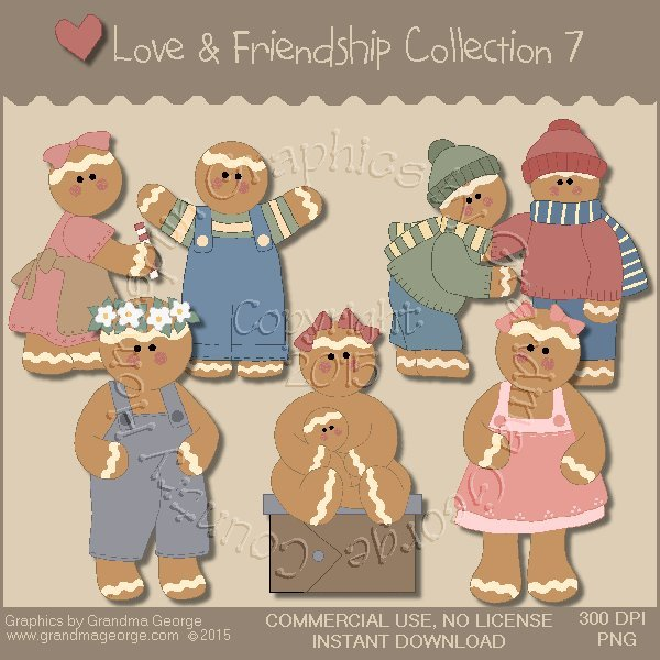 Love & Friendship Graphics Collection Vol. 7