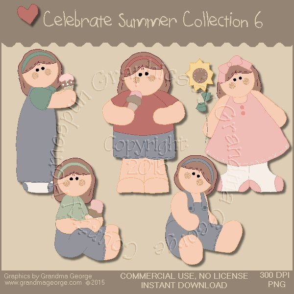 Celebrate Summer Country Graphics Collection Vol. 6