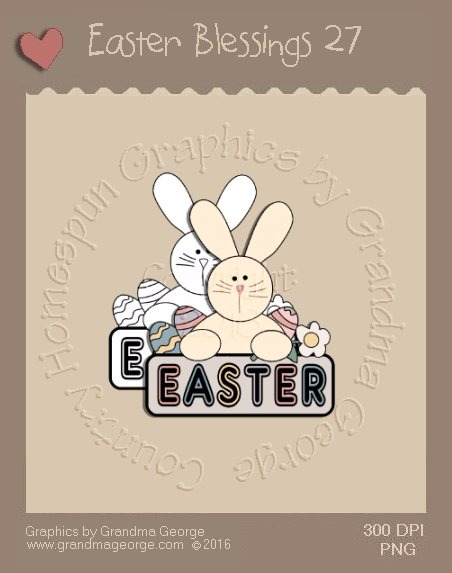 Easter Blessings Single Country Graphic 27