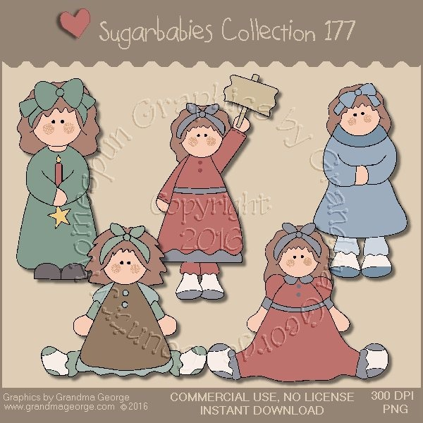 Sugarbabies Country Graphics Collection Vol. 177
