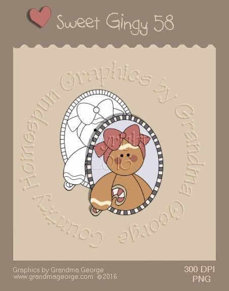 Sweet Gingy Single Country Graphic 58