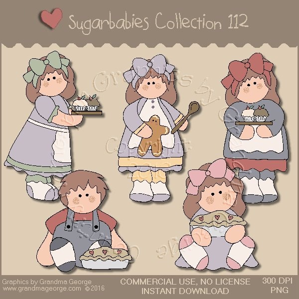 Sugarbabies Country Graphics Collection Vol. 112
