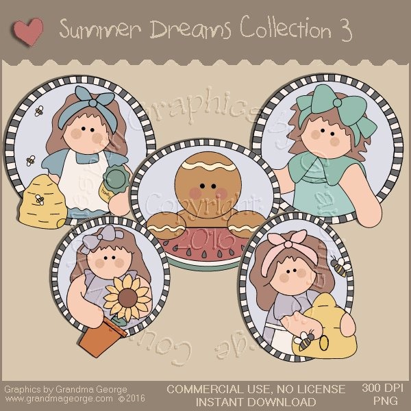 Summer Dreams Country Graphics Collection Vol. 3
