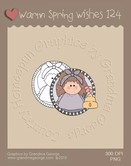 Warm Spring Wishes Single Country Graphic 124