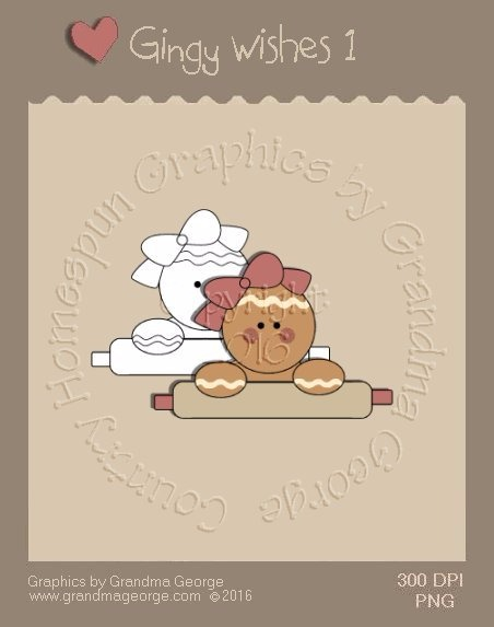 Gingy Wishes Single Country Graphic 1