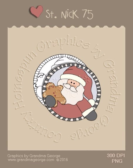 St. Nick Single Country Graphic 75