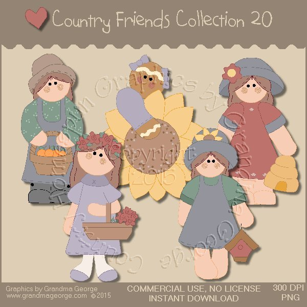 Country Friends Graphics Collection Vol. 20