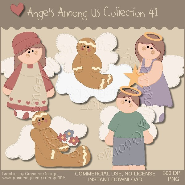 Angels Among Us Graphics Collection Vol. 41