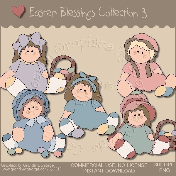 Easter Blessings Country Graphics Collection Vol. 3