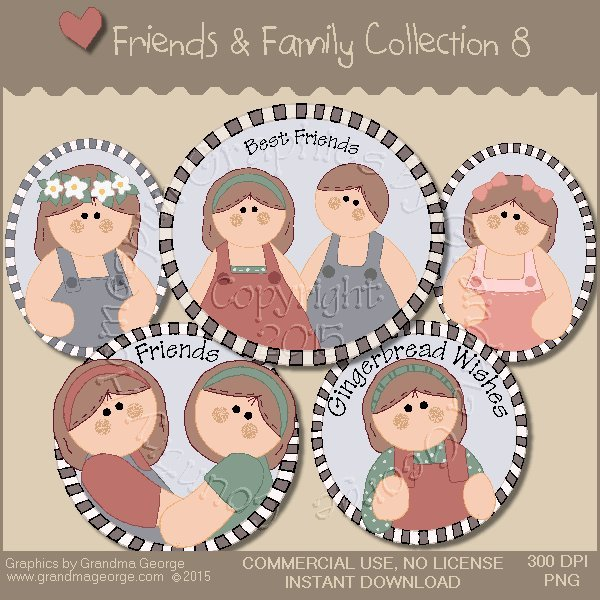 Friends & Family Graphics Collection Vol. 8