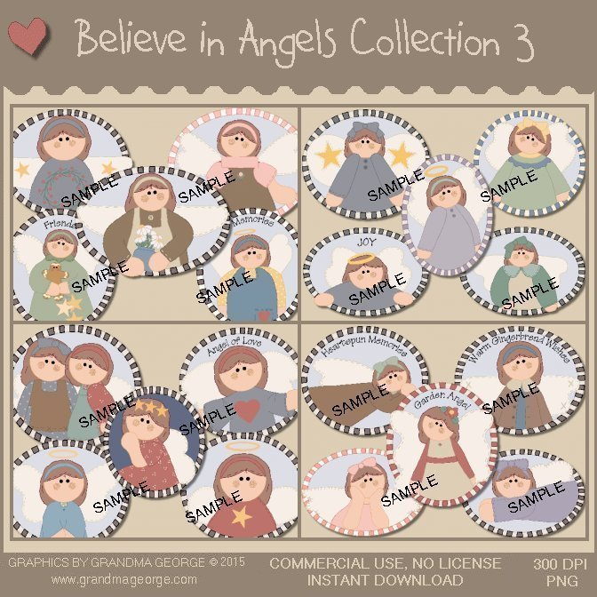 Believe in Angels Graphics Collection Vol. 3