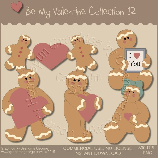 Be My Valentine Graphics Collection Vol. 12